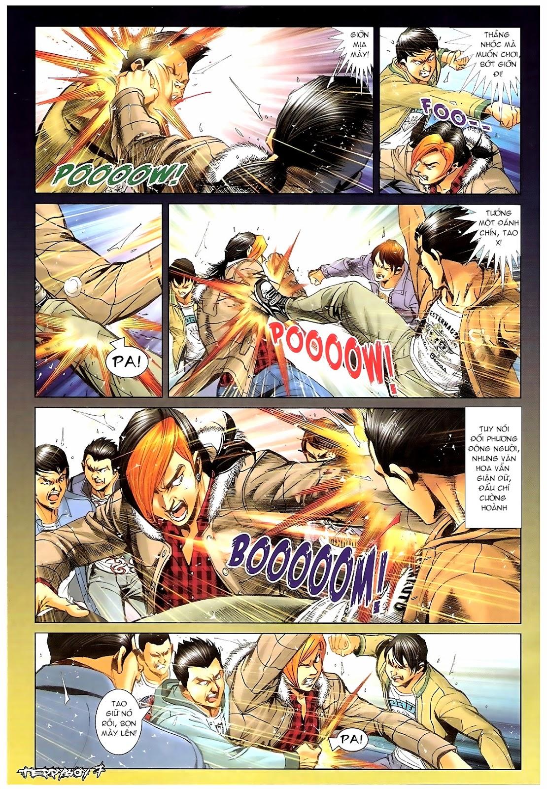 Người Trong Giang Hồ - Chapter 1383: Tiểu Xuân vs Thế Chương - Pic 4