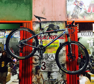 Sepeda Mtb MOSSO SCANDIUM cuma 9 KG an saja