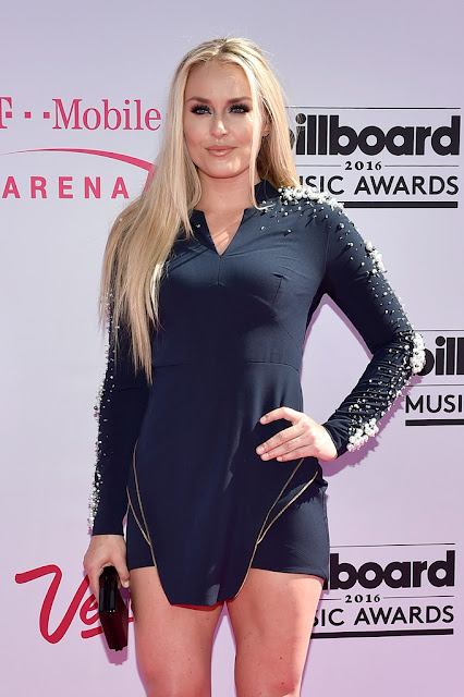 World Cup Alpine Ski Racer, @ Lindsey Vonn - 2016 Billboard Music Awards in Las Vegas