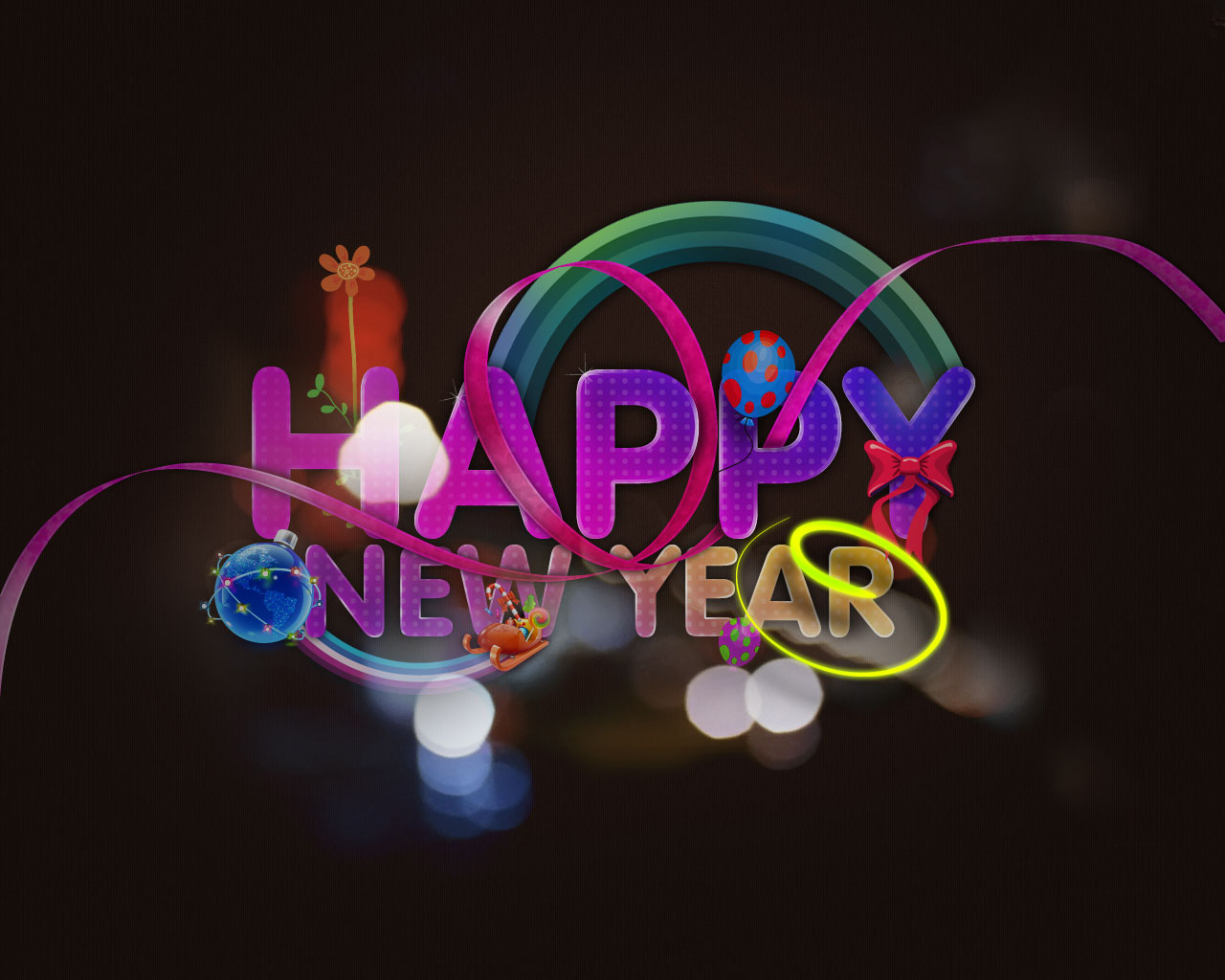Happy New Year Cards. 1280 x 1024.Happy New Years Clip Art