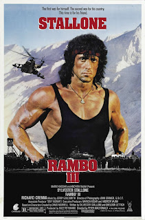 Rambo 3 movie poster