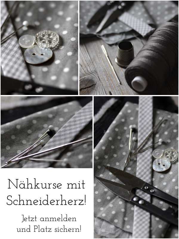 Nähkurse Schneiderherz Flensburg Workshop Nähen Kurs VHS