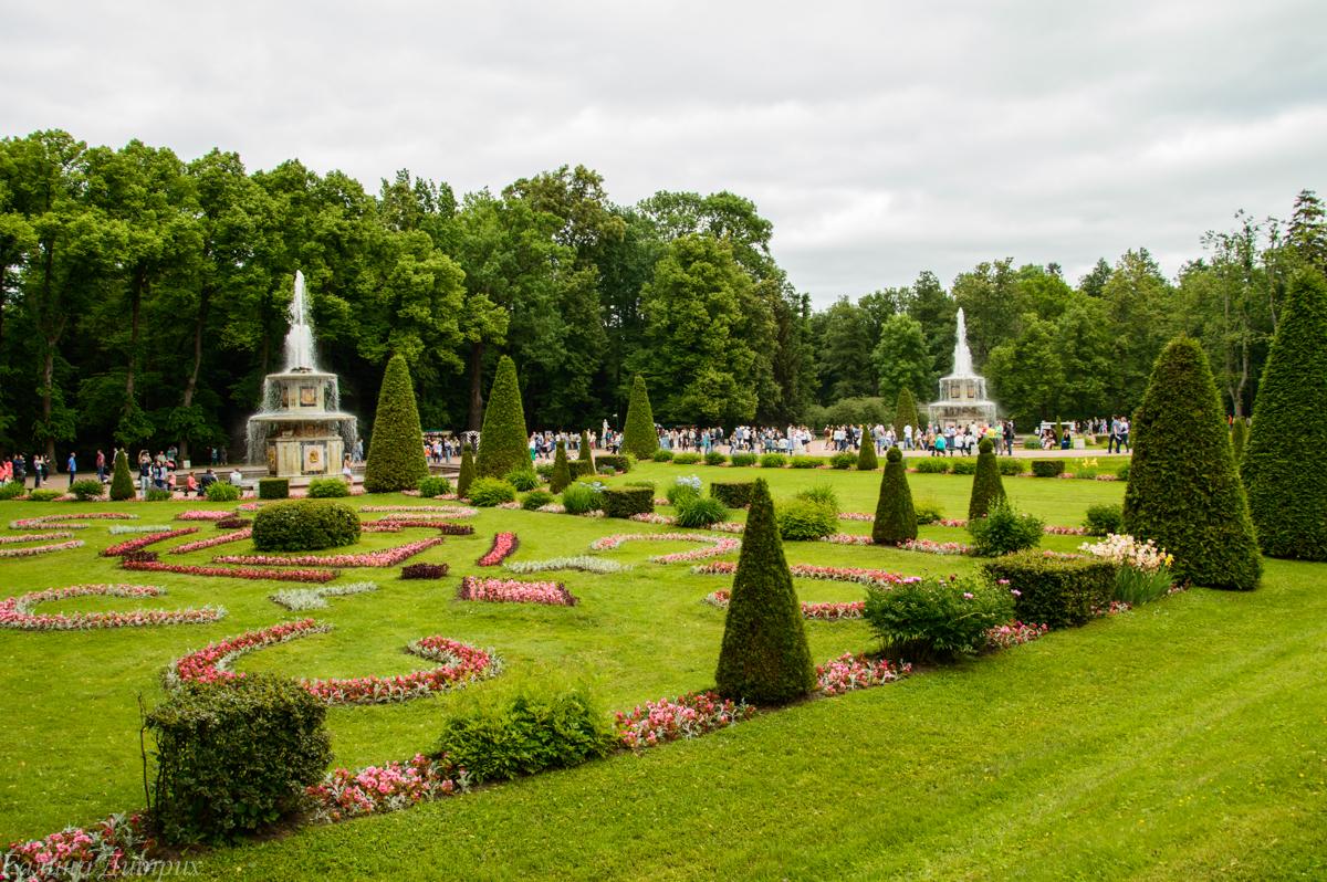 Нижний Парк Петергоф фото