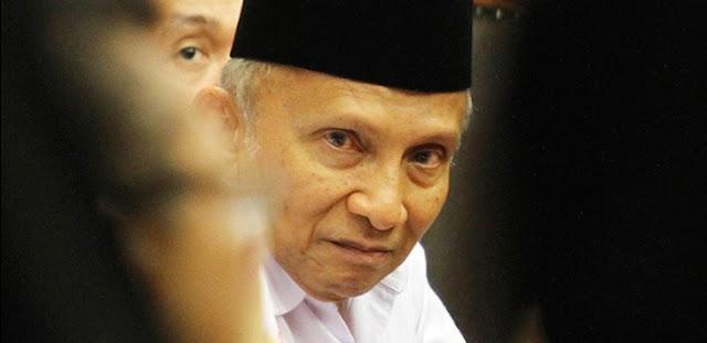 Pengamat: Amien Rais Unjuk Sikap Benci Pada Jokowi
