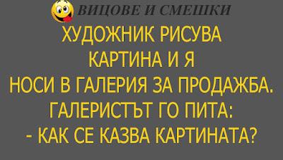 Вицове - Художник