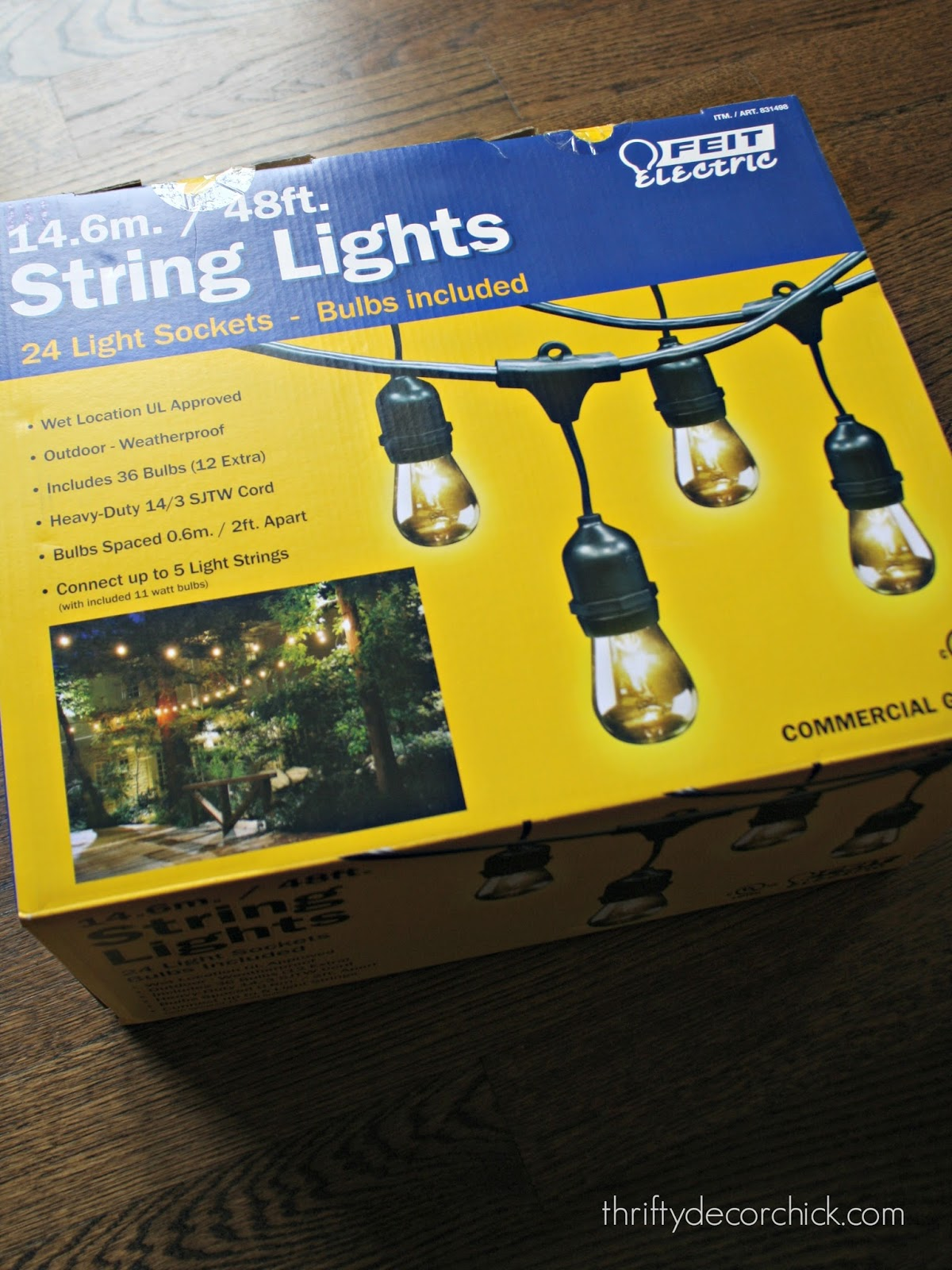 The best outdoor lights from thrifty decor chick best string lights for outside aloadofball Images
