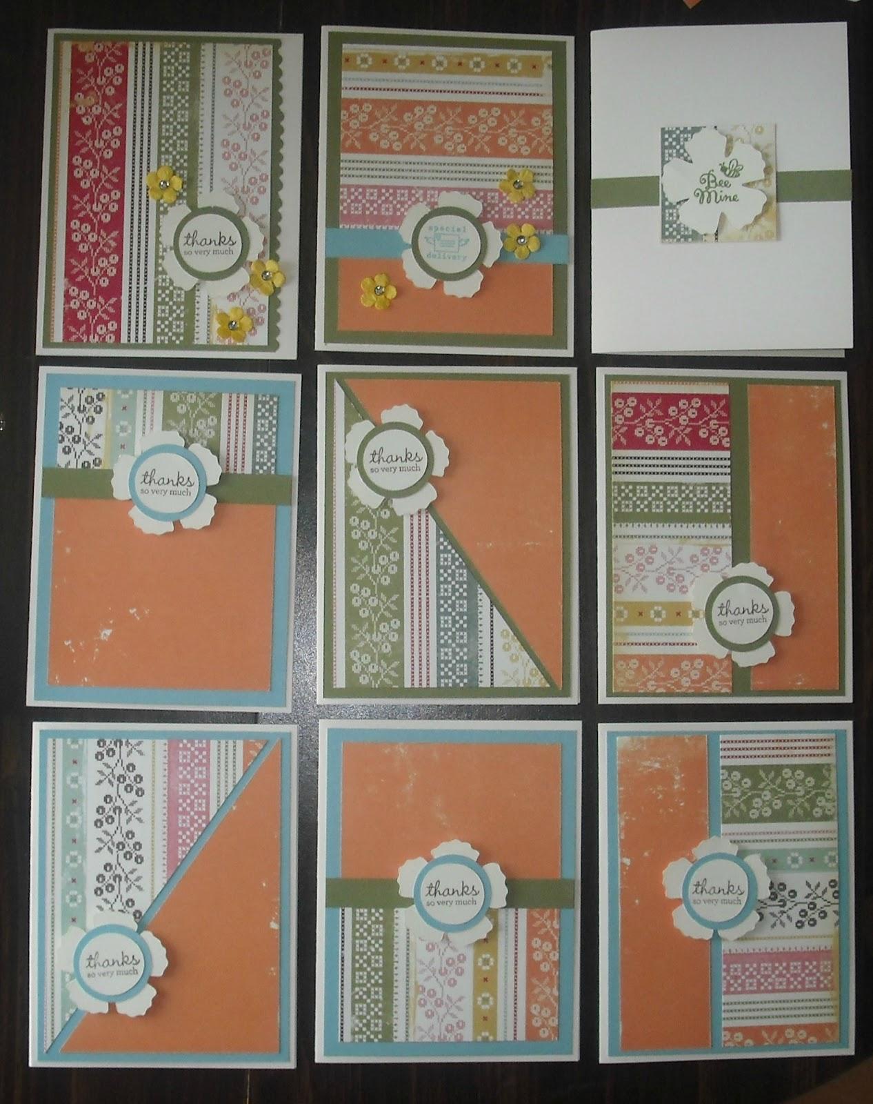 Sarah Stone Creations: One Sheet Wonder Cards - photo#48