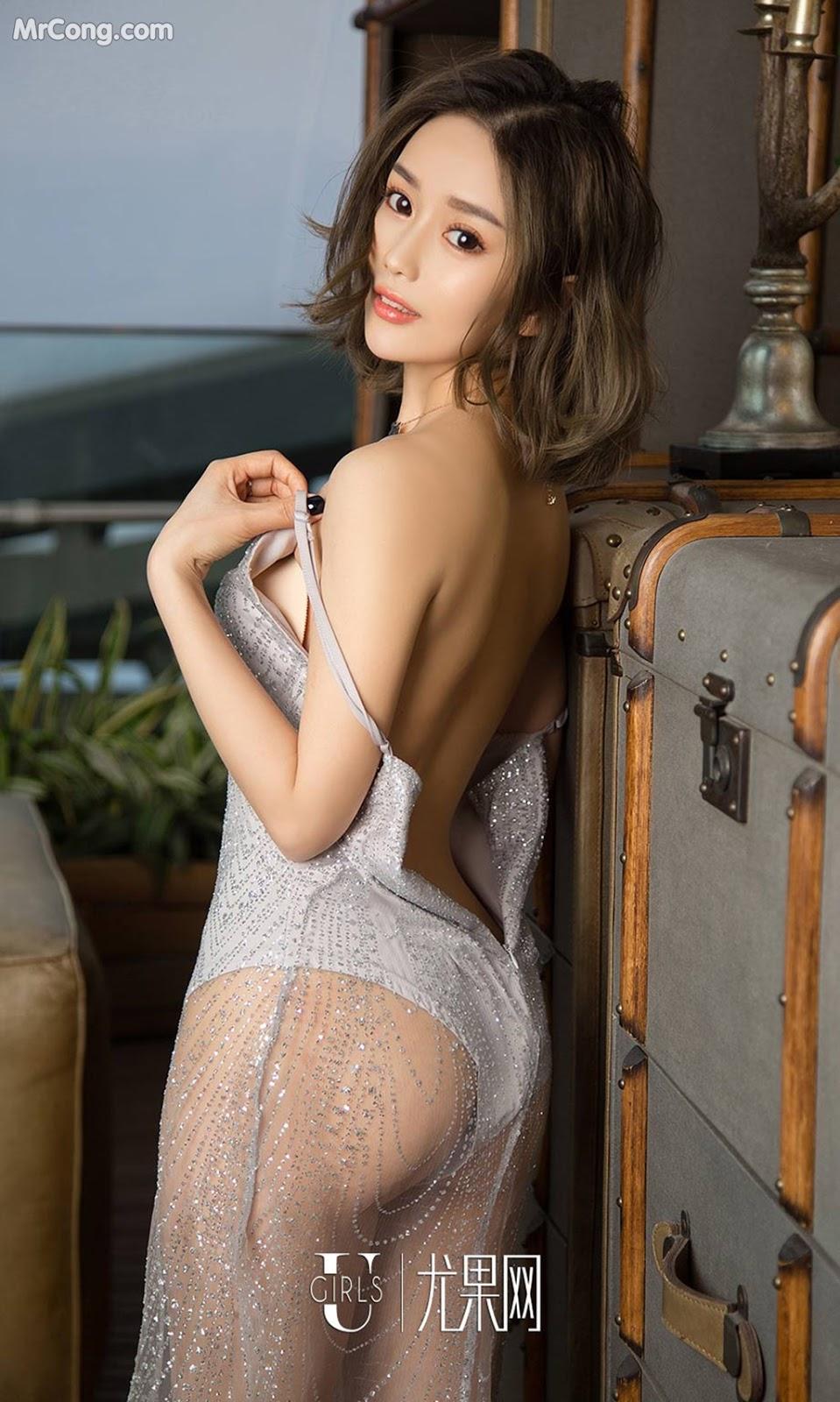 Image UGIRLS-Ai-You-Wu-App-No.1022-Yan-Yi-Xi-MrCong.com-021 in post UGIRLS – Ai You Wu App No.1022: Người mẫu Yan Yi Xi (颜亦汐) (40 ảnh)