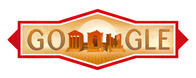 Tunisia National Day 2016 - Google Doodle