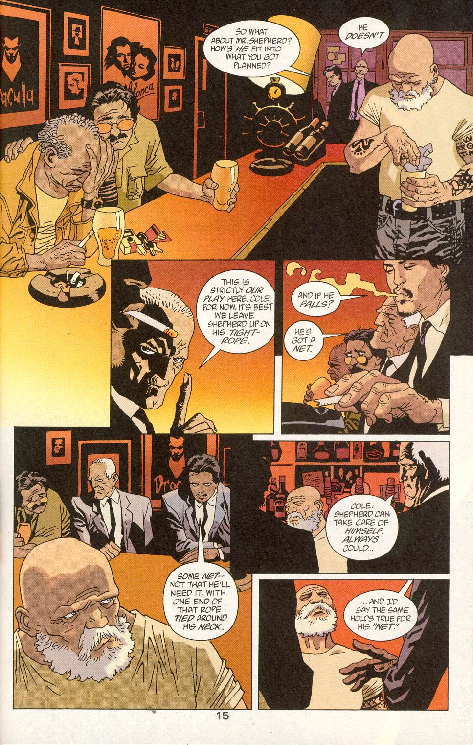 Read online 100 Bullets comic -  Issue #24 - 17