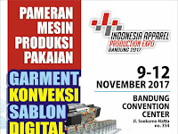Indonesia Apparel Production Expo 2017 Digelar di Bandung