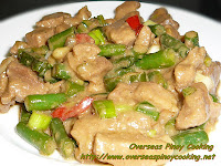 Creamy Bicol Express with Green Beans