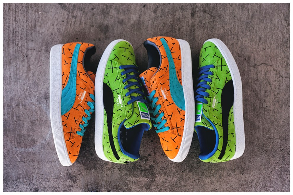 The Puma Suede is set to be dressed up in another striking look later this  Autumn in the  Since 93 . The reasoning behind the graphical print and name  won t ... 8828368a2