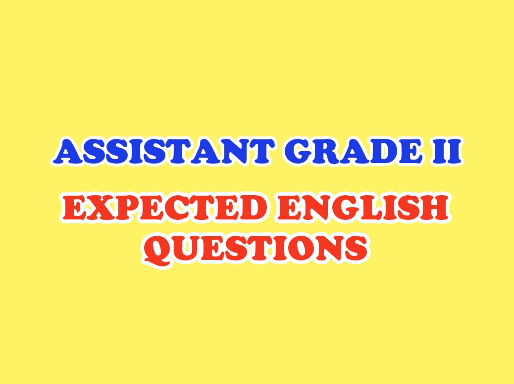 KERALA PSC ENGLISH REPEATED QUESTIONS - PSC SUCCESS POINT
