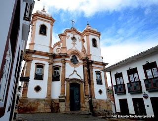 Museu de Arte Sacra junto à Igreja Nossa Senhora do Pilar - Ouro Preto - MG