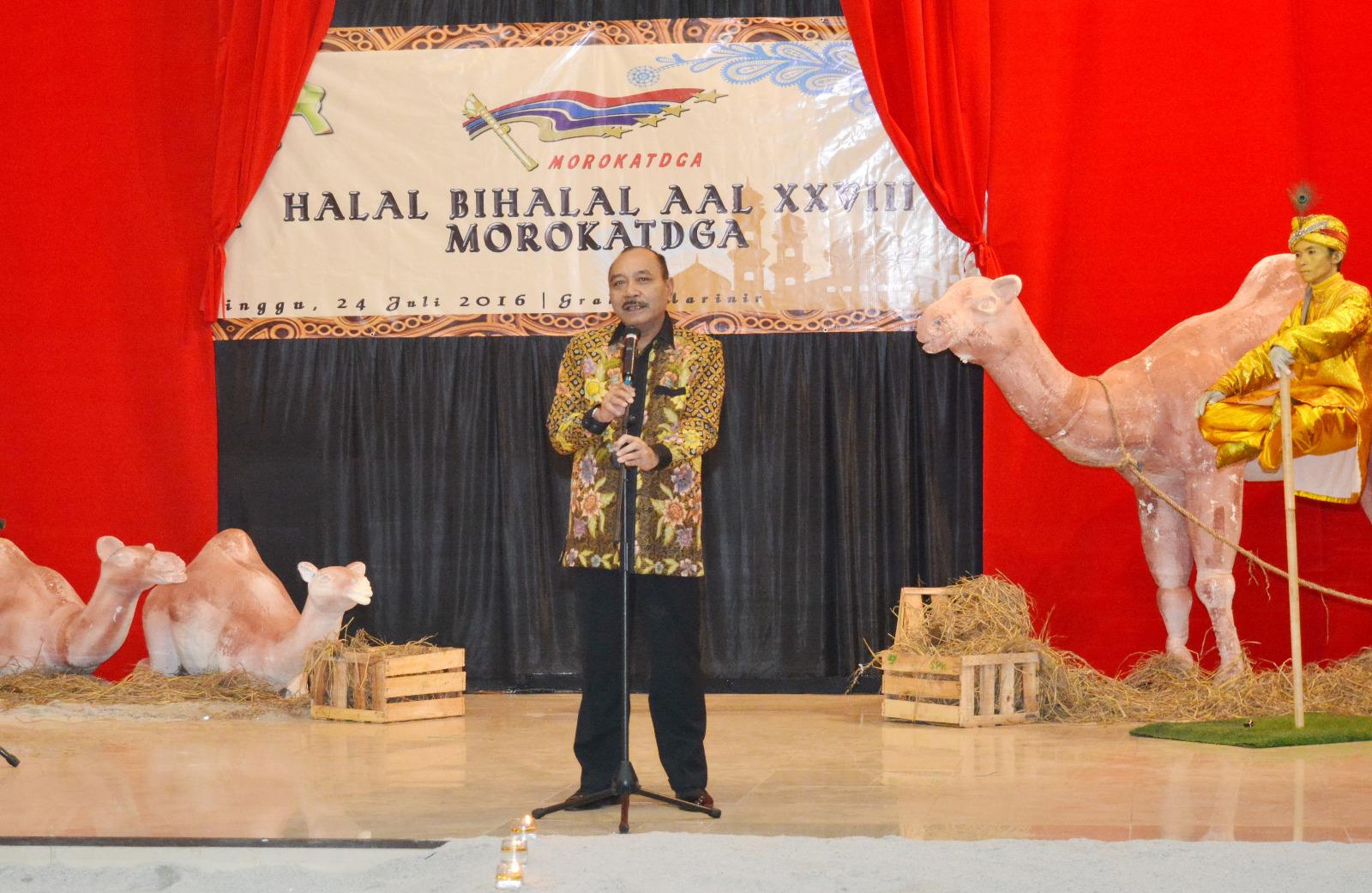 Laksdya TNI Ari Soedewo Didaulat Menjadi MC