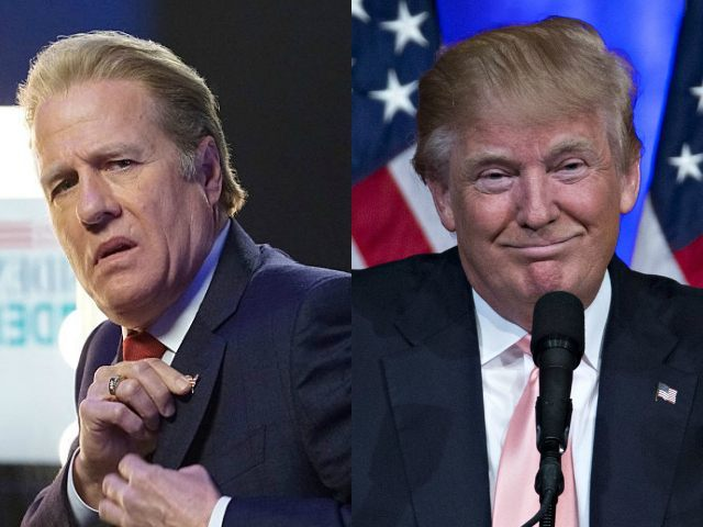 Henry Gregg (Hollis Doyle) y Donald Trump