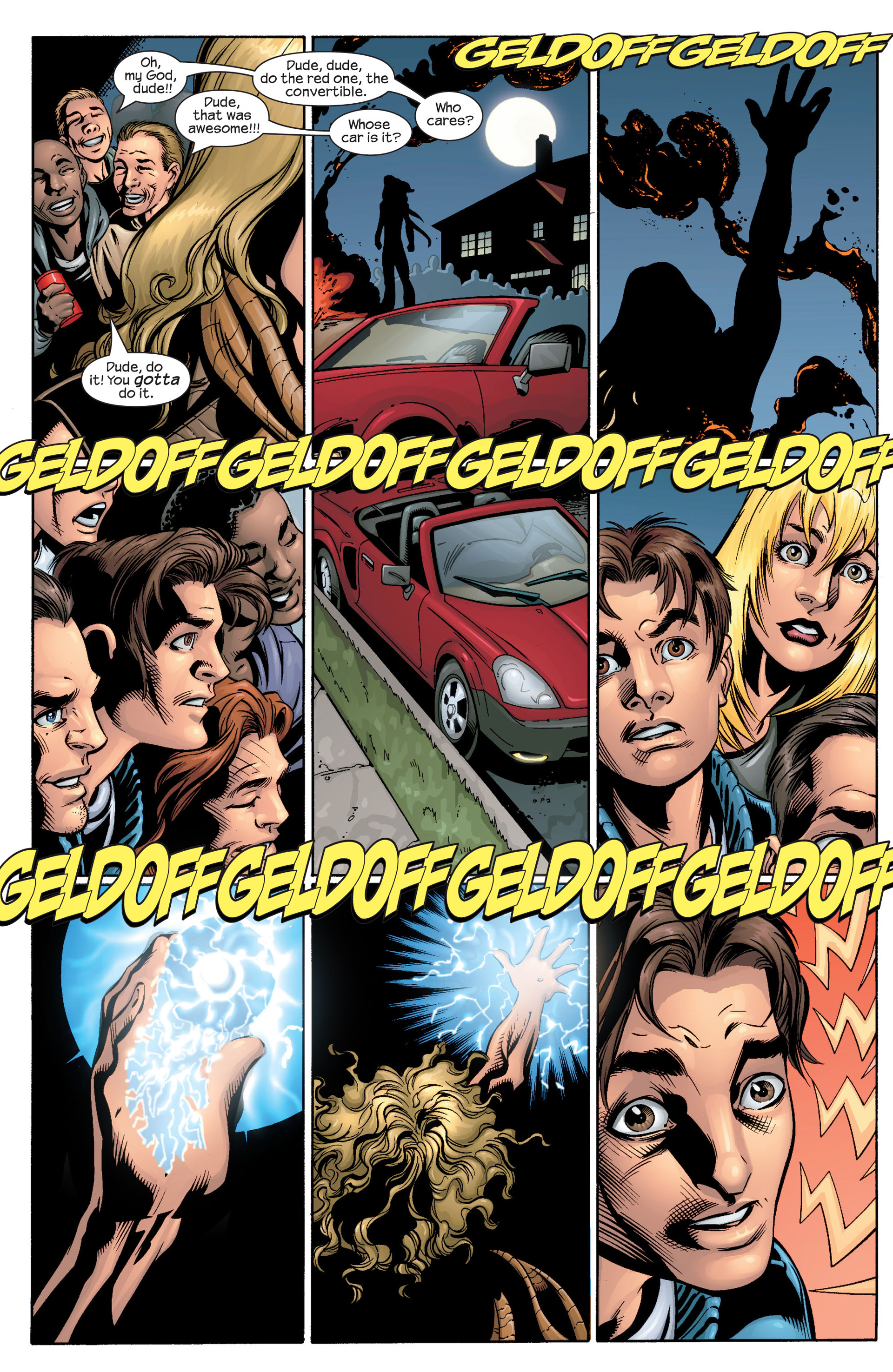 Read online Ultimate Spider-Man (2000) comic -  Issue #40 - 23