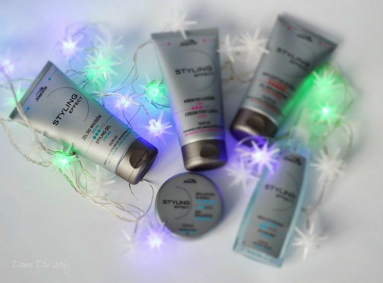 Joanna Styling Effect - przegląd kosmetyków do stylizacji włosów Laboratorium Kosmetyczne Joanna
