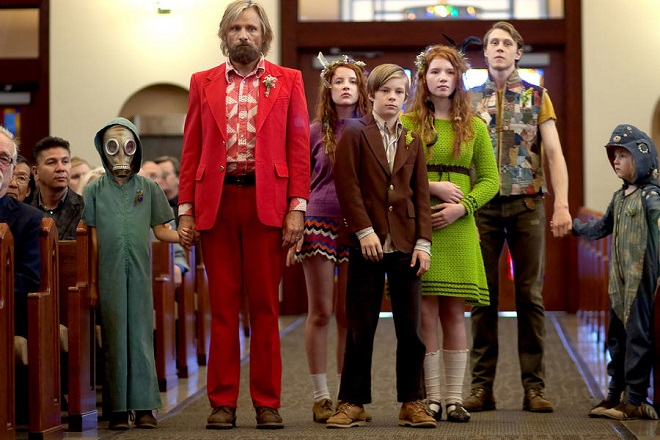Viggo Mortensen erzieht Kinder. Auf seltsame Art und Weise.