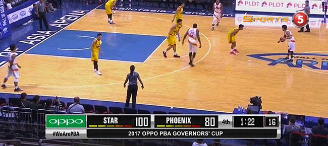 Star Hotshots def. Phoenix, 100-81  (REPLAY VIDEO) August 23