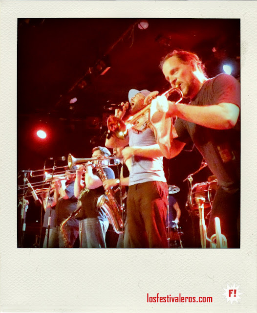 Young Blood Brass Band en la Sala Bikini