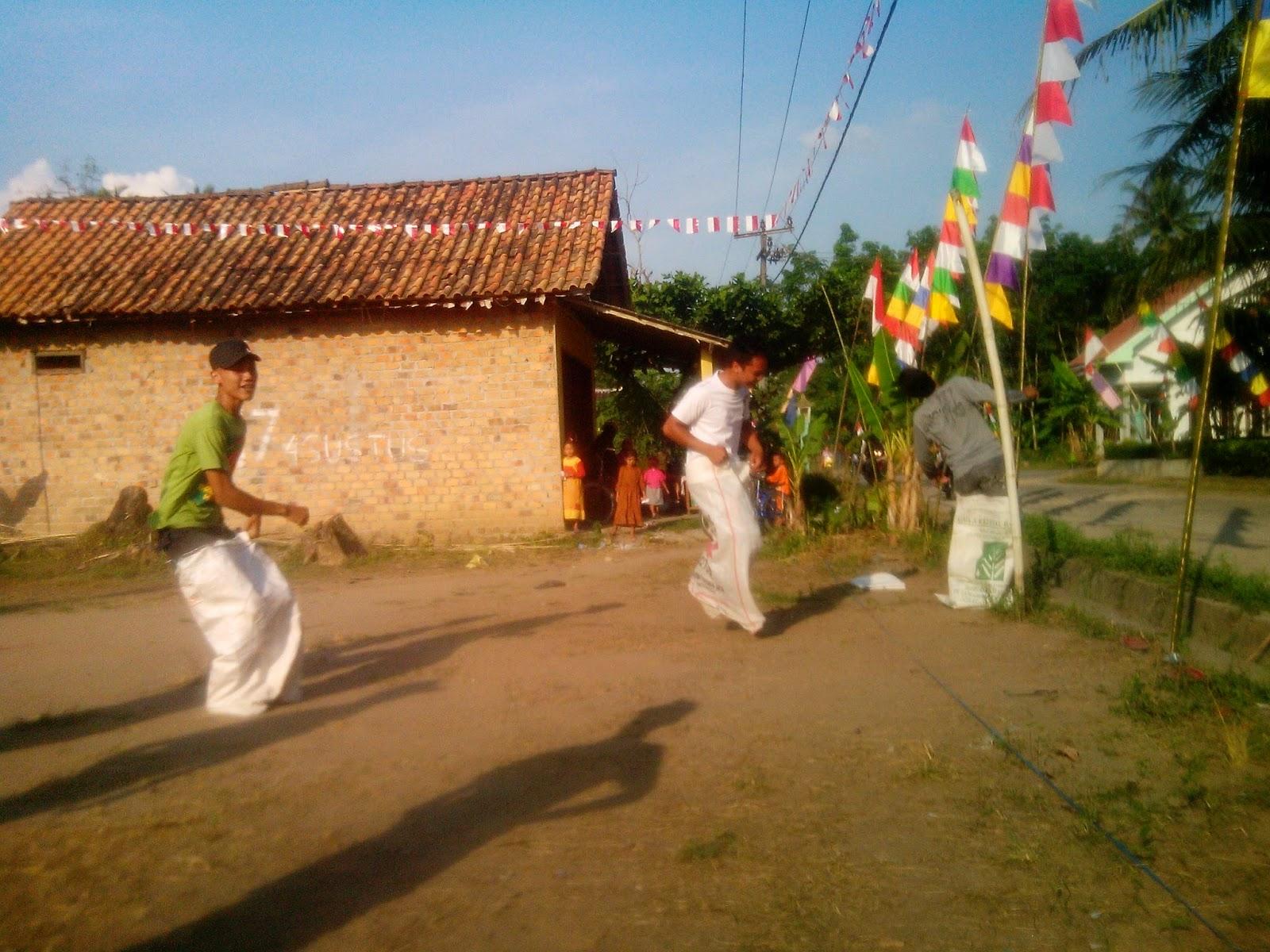 Acara 17 Agustus Dusun Kumpul Mulyo Desa Perjaya Barat Oku