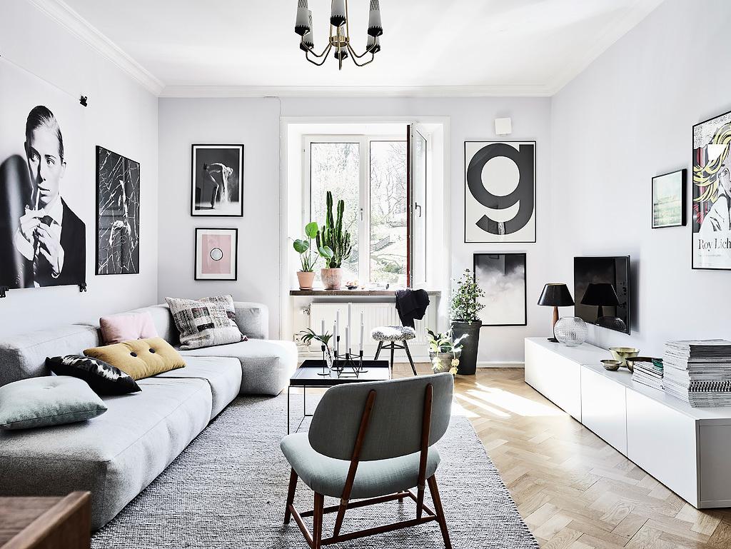 scandimagdeco le blog: visite d'un appartement à la déco scandinave