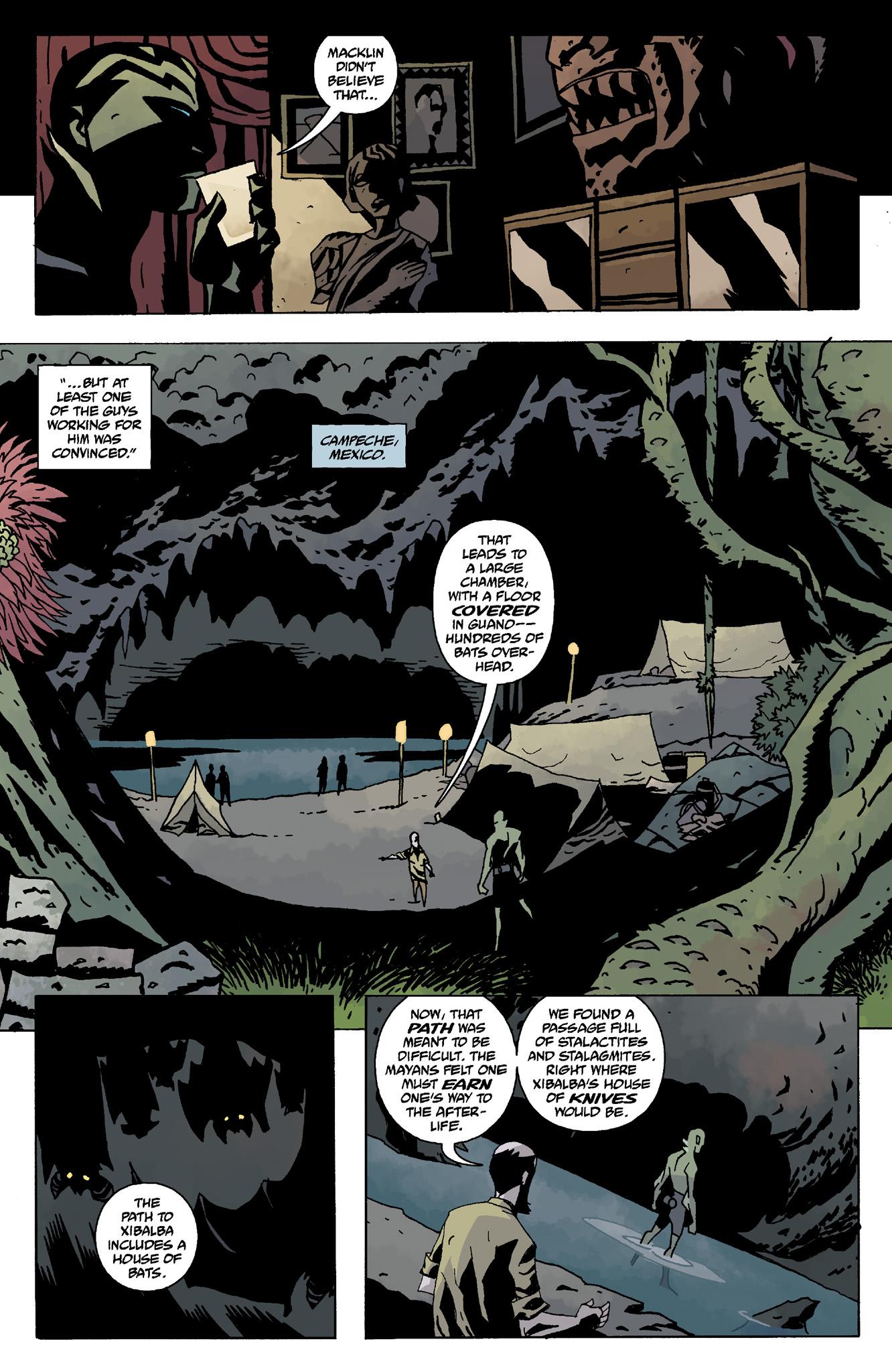 Read online Abe Sapien comic -  Issue #8 - 4