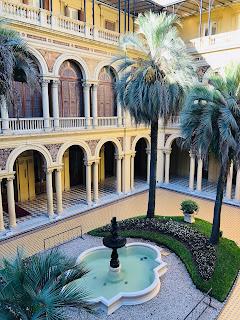 Patio de Honor de la Casa Rosada de Buenos AIres