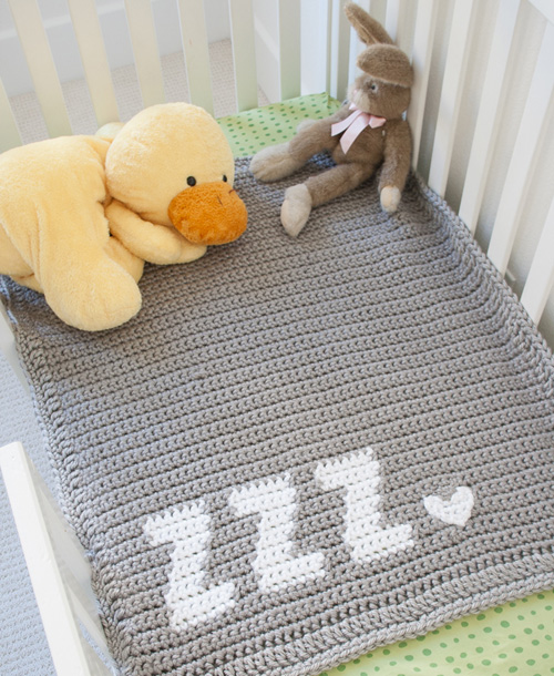 Get Some Zzz's Baby Blanket - Free Pattern