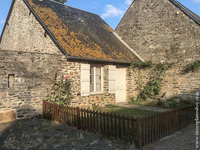 Alojamiento Mont Saint-Michel viaje Normandia dormir