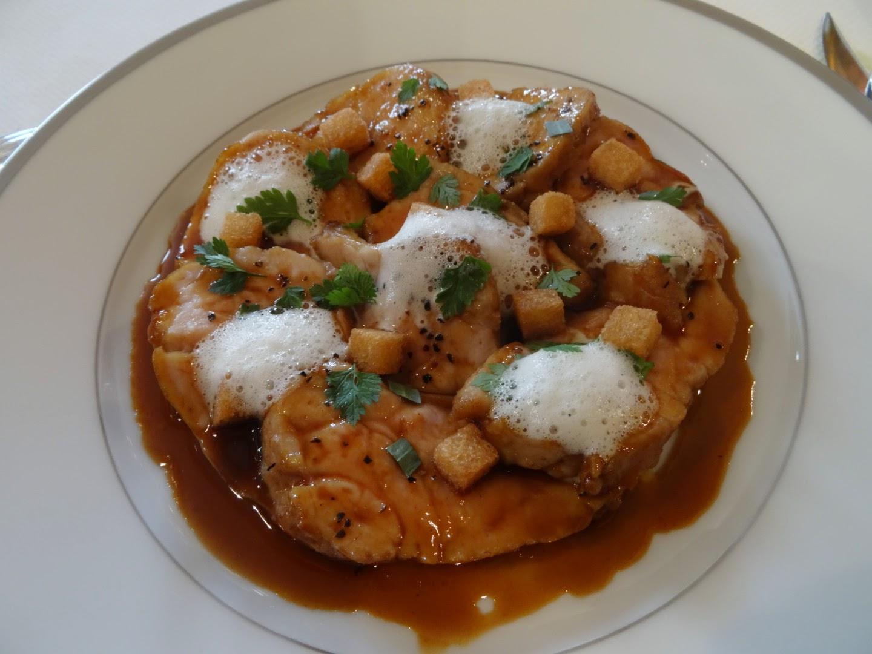Plat restaurant l'Ambroisie Paris 4 ème.