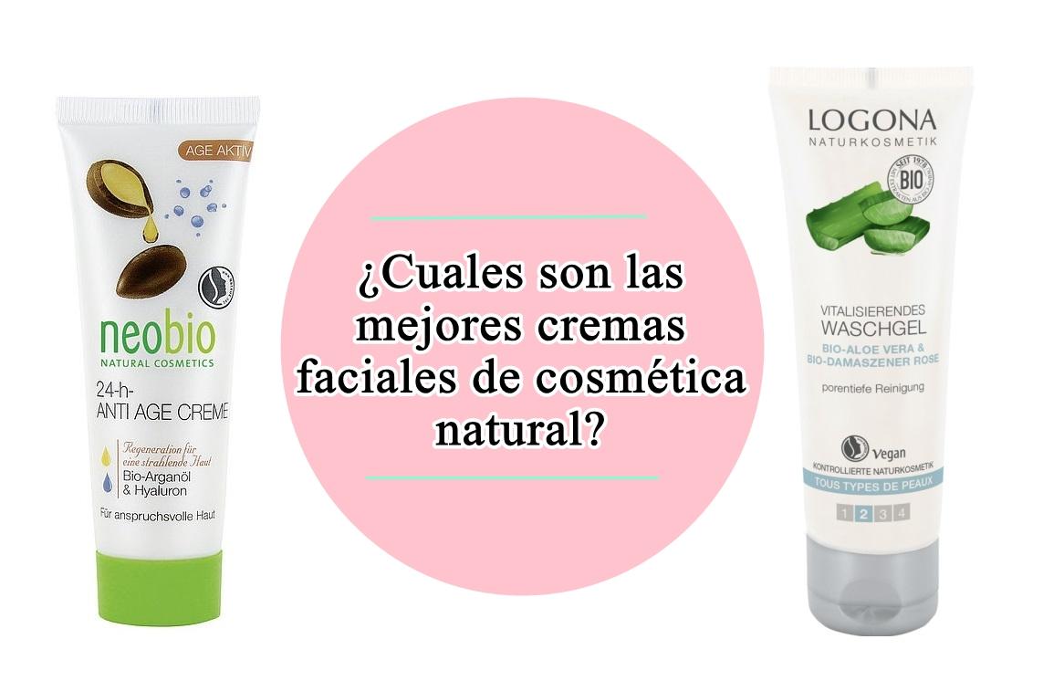 Las mejores cremas de cuidado facial / Cosmética ecológica..