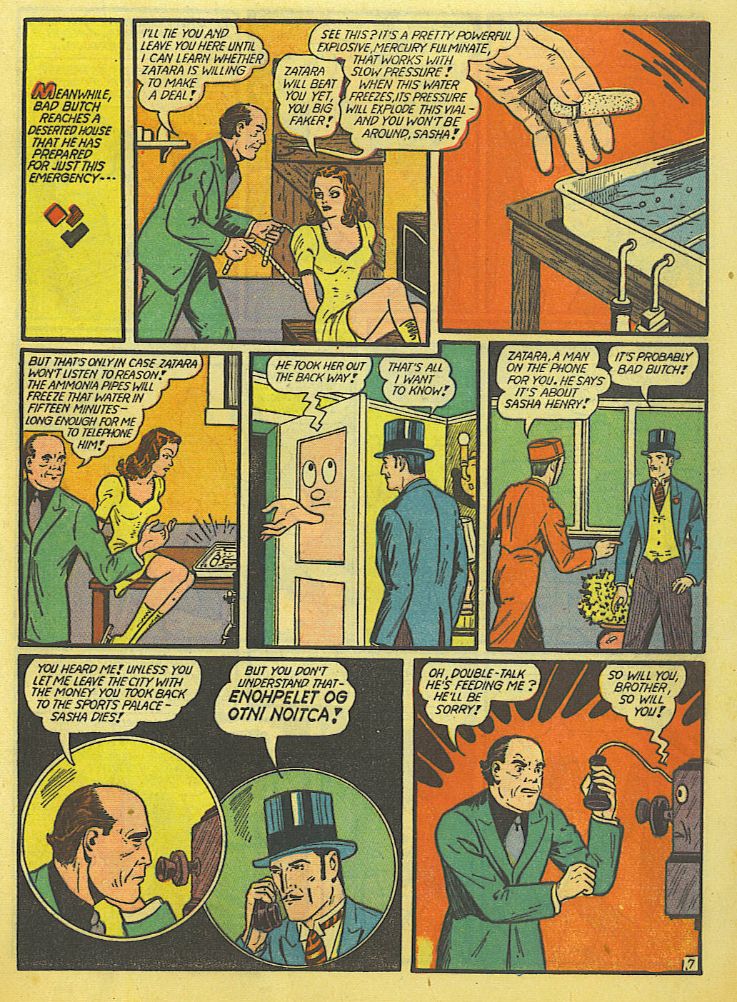 Read online Action Comics (1938) comic -  Issue #52 - 63