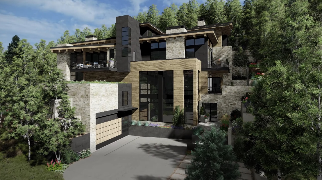 Tour 672 W Forest Rd, Vail Luxury Home vs. 23 Interior Design Photos