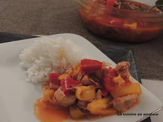 http://recettes.de/emince-de-dinde-avec-une-compotee-de-poivrons-au-cookeo