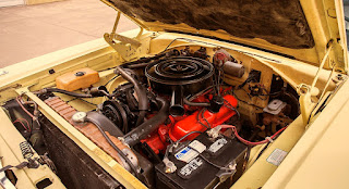 1968 Dodge Coronet 500 Sport Coupe Engine 01