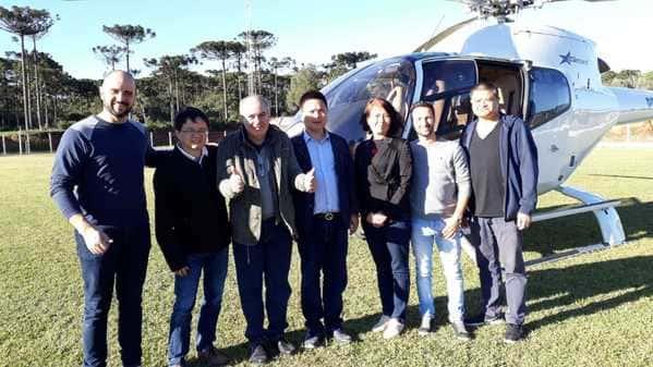 Chineses confirmam instalação de indústria de laminados em Major Vieira