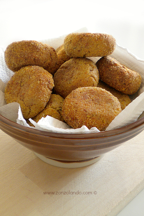 Ricetta polpette di tonno e ricotta al forno o fritte - tuna polpette oven recipe