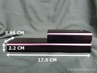 Ukuran dari ZenPower Ultra