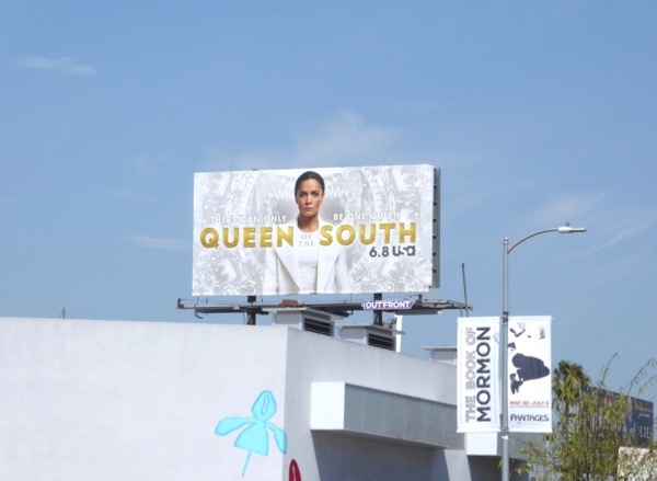 Queen of South season 2 billboard