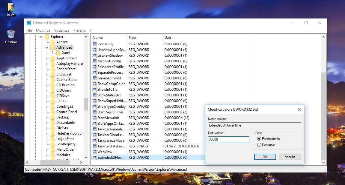 Come disattivare le Miniature di Anteprima nella Taskbar di Windows 10 3 HTNovo