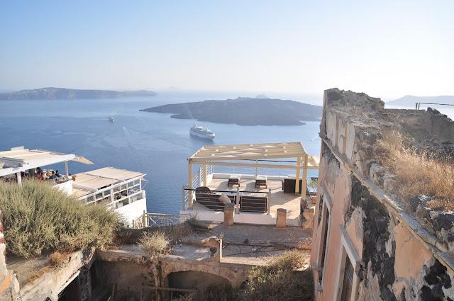 Santorini Yunan Adaları