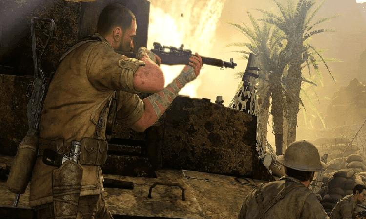 تحميل لعبة القناص سنايبر sniper elite 3 مجانا