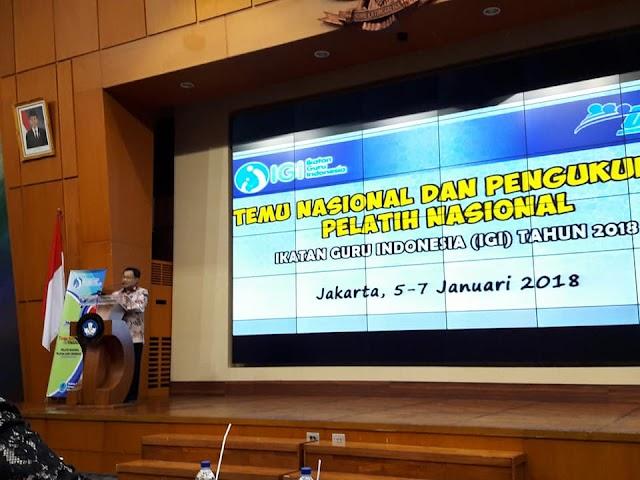 """Hamid Muhammad: """"Jika Semua Orprof Guru seperti IGI, Pendidikan Indonesia akan Maju"""""""