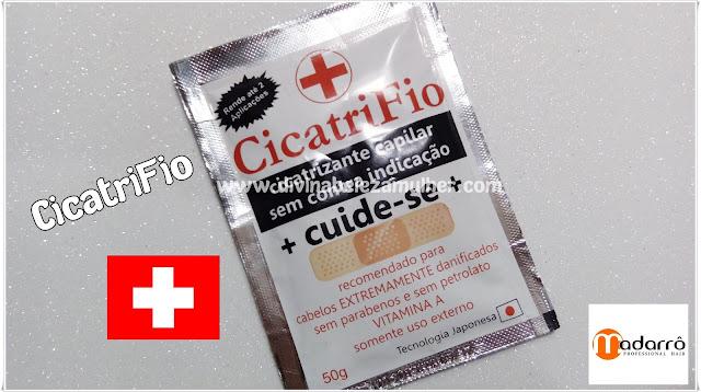 Cicatrifio Cicatrizante Capilar Madarrô Cosméticos
