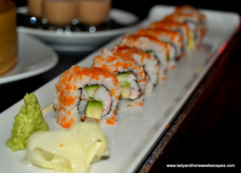 California Maki at China Grill Dubai