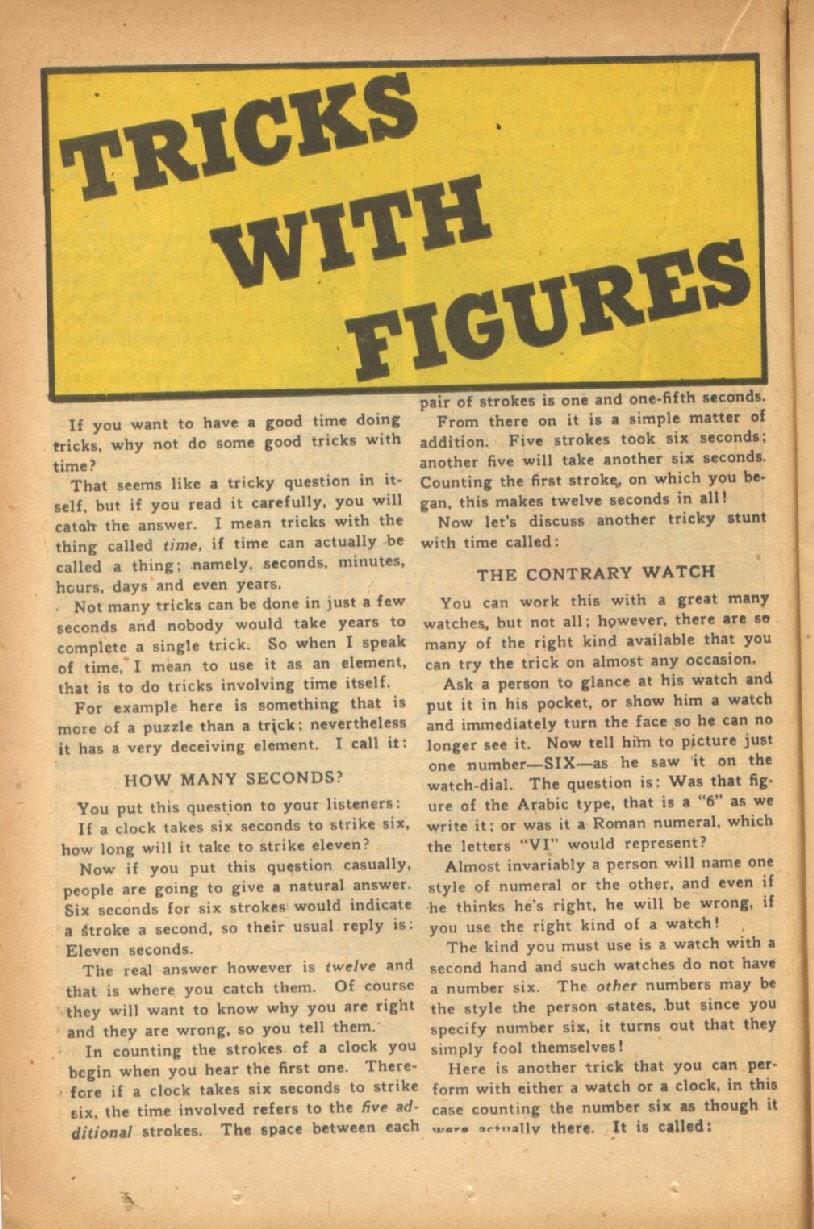 Read online Super-Magician Comics comic -  Issue #47 - 22