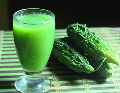 Karela juice peene ke fayde (benefits of bittergourd juice).